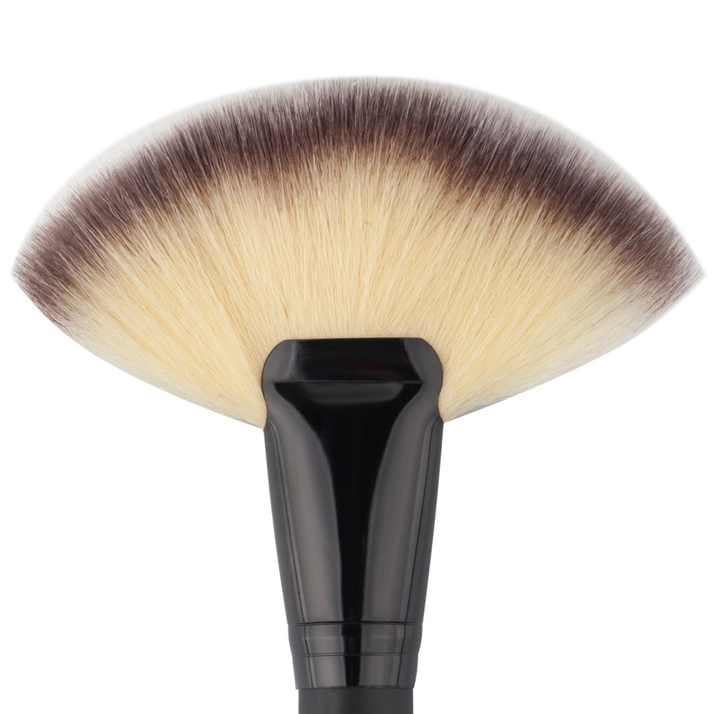 Professional Makeup Brush Large Fan Brush Blush Powder ...