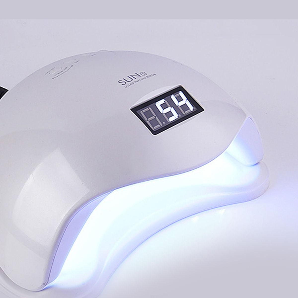 SUNUV SUN5 36W Nail Lamp UV Lamp Nail Dryer for UV LED Gel Polish ...