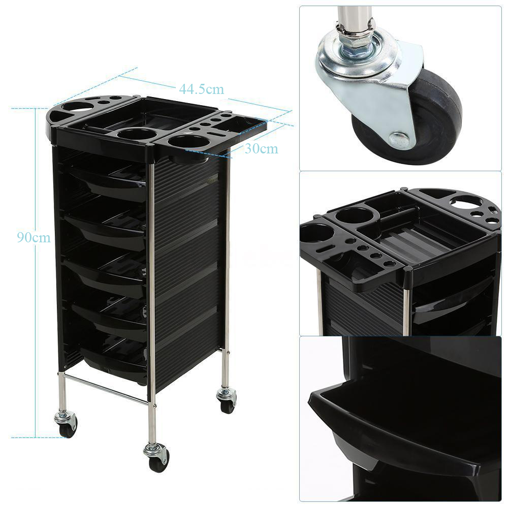 35 beauty salon spa styling station trolley equipment for Salon trolley
