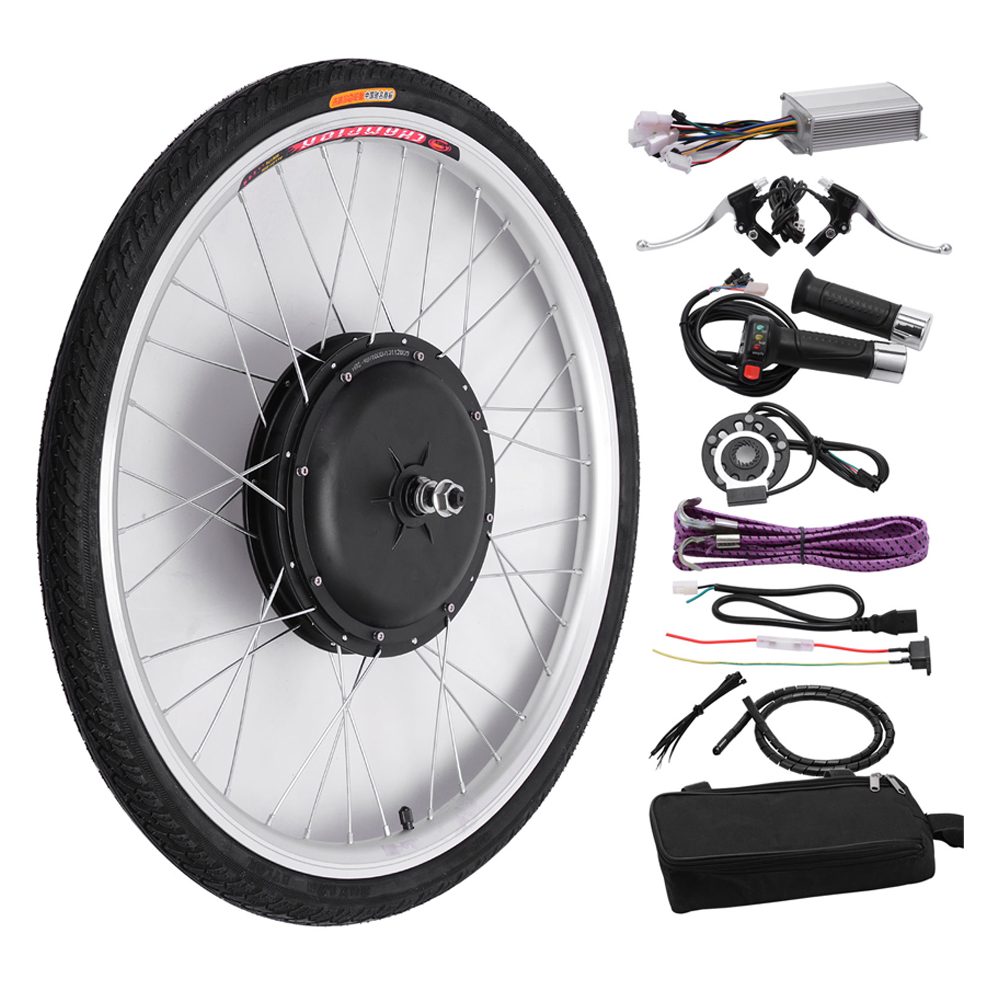Recumbent Bike Electric Motor Kit: 48v Front Wheel Electric Bicycle Motor Conversion Kit