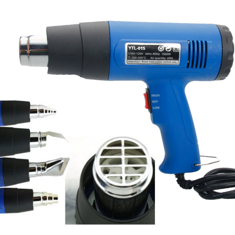 Hot Air Blower Heating : New w heat gun hot air wind blower dual temperature