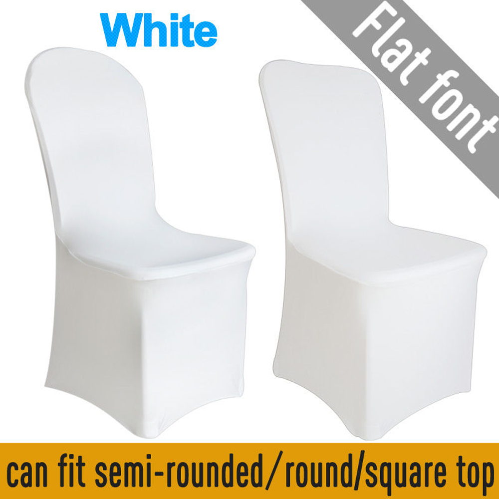 Superb Details About 100Pcs Spandex Stretch Chair Covers White For Wedding Party Banquet Decoration Frankydiablos Diy Chair Ideas Frankydiabloscom