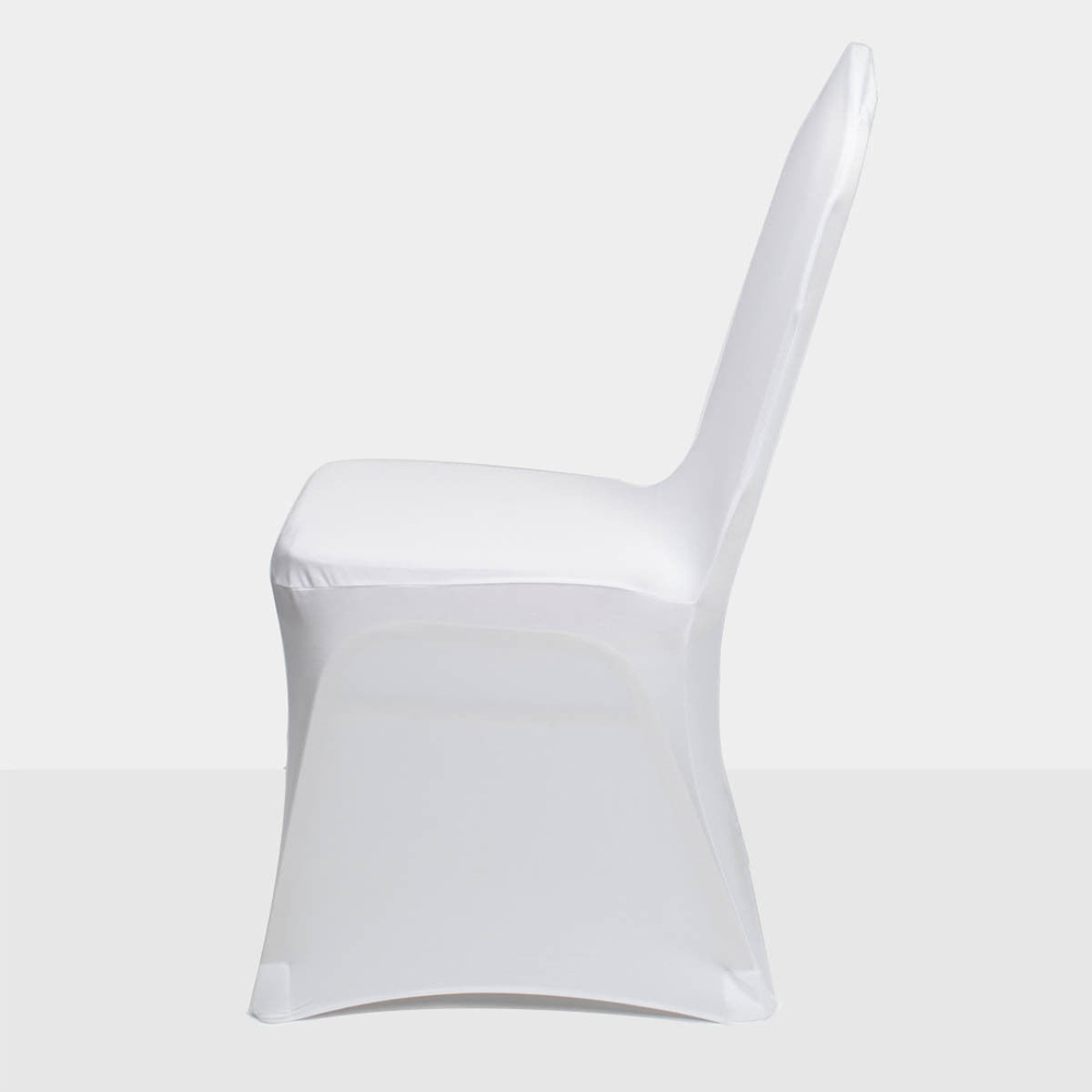 Super Details About 100Pcs Spandex Stretch Chair Covers White For Wedding Party Banquet Decoration Unemploymentrelief Wooden Chair Designs For Living Room Unemploymentrelieforg