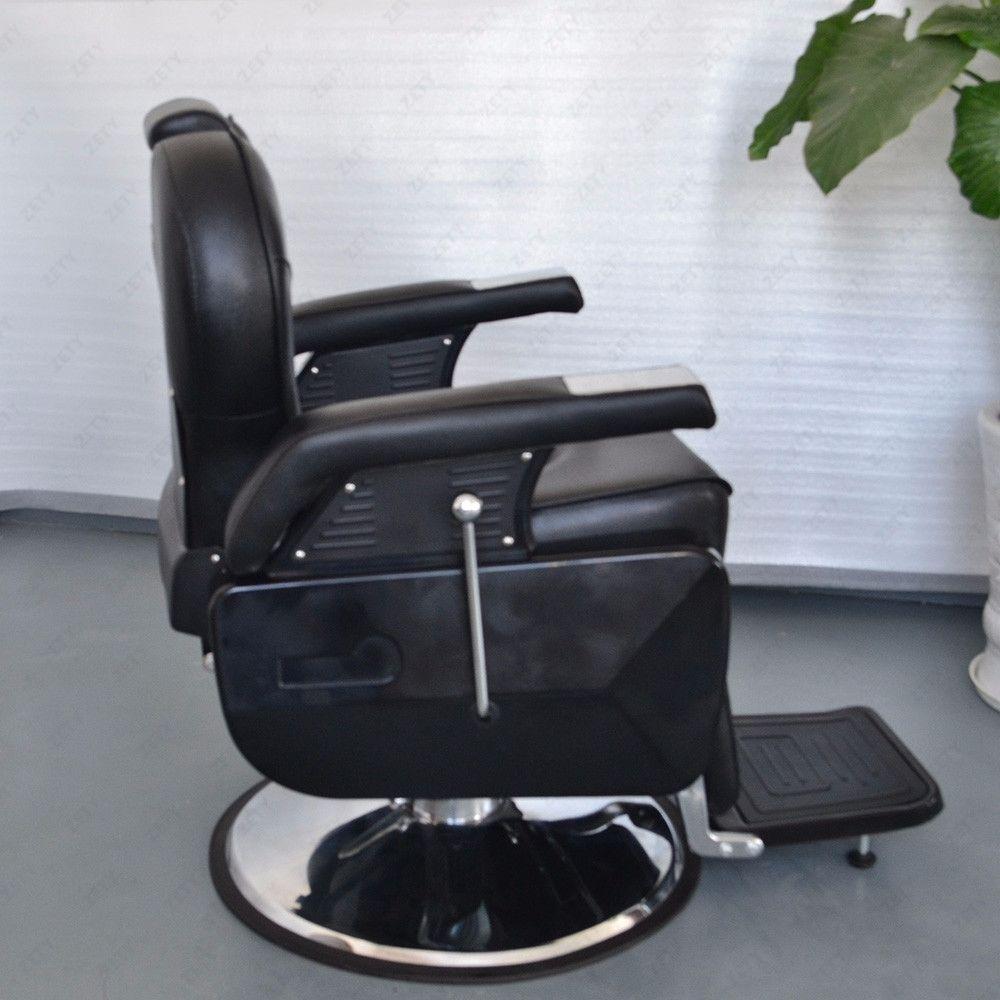 Hydraulic Wheelchair Seat : All purpose hydraulic recline barber chair salon beauty