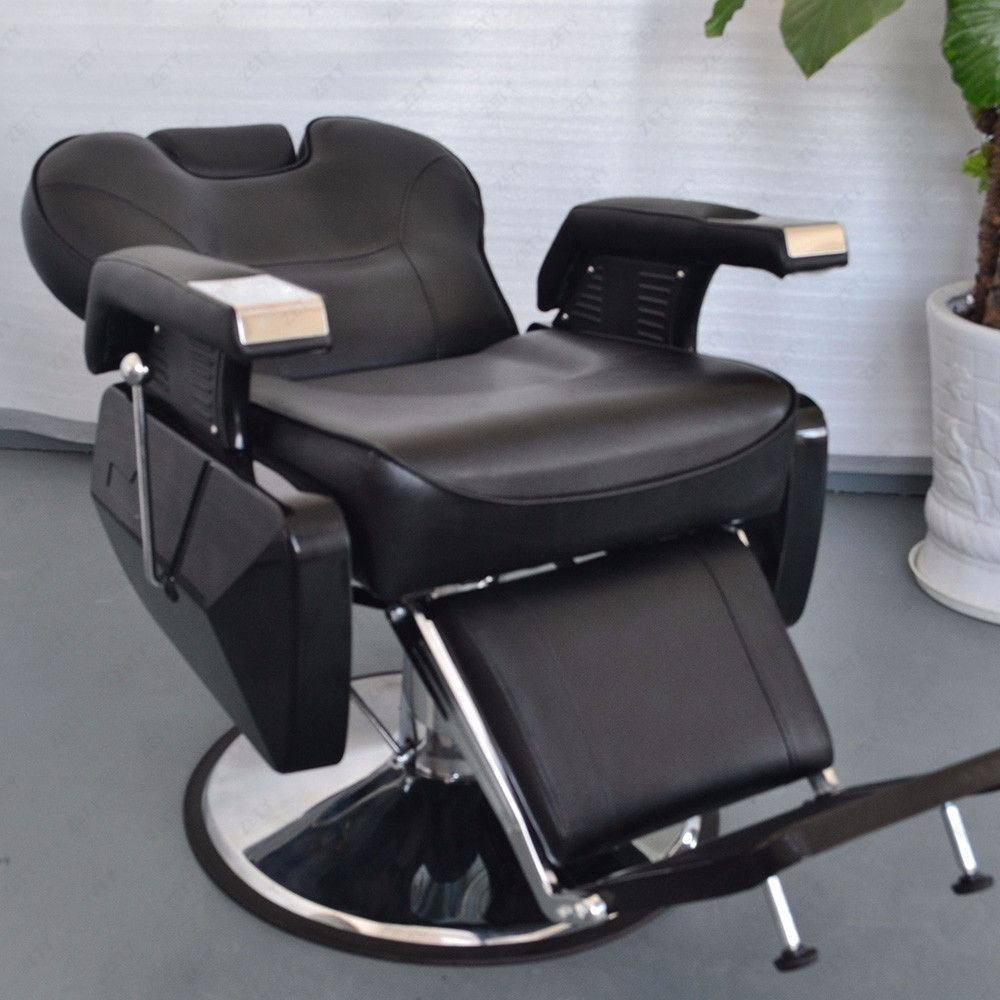 Modern barber chair - Classic Styling With A Bit Of Modern Flair Ideal For Any Barbers Your Clients Will Love The Luxurious Comfort On Our Spacious And Plush Chair