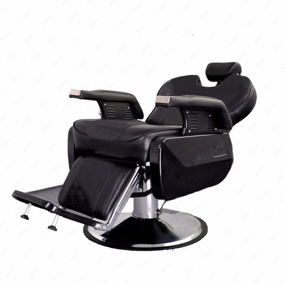 Your clients will love the luxurious comfort on our spacious and plush chair. Heavy duty components 150 degree reclining ...  sc 1 st  eBay & All Purpose Hydraulic Recline Barber Chair Salon Beauty Spa ... islam-shia.org