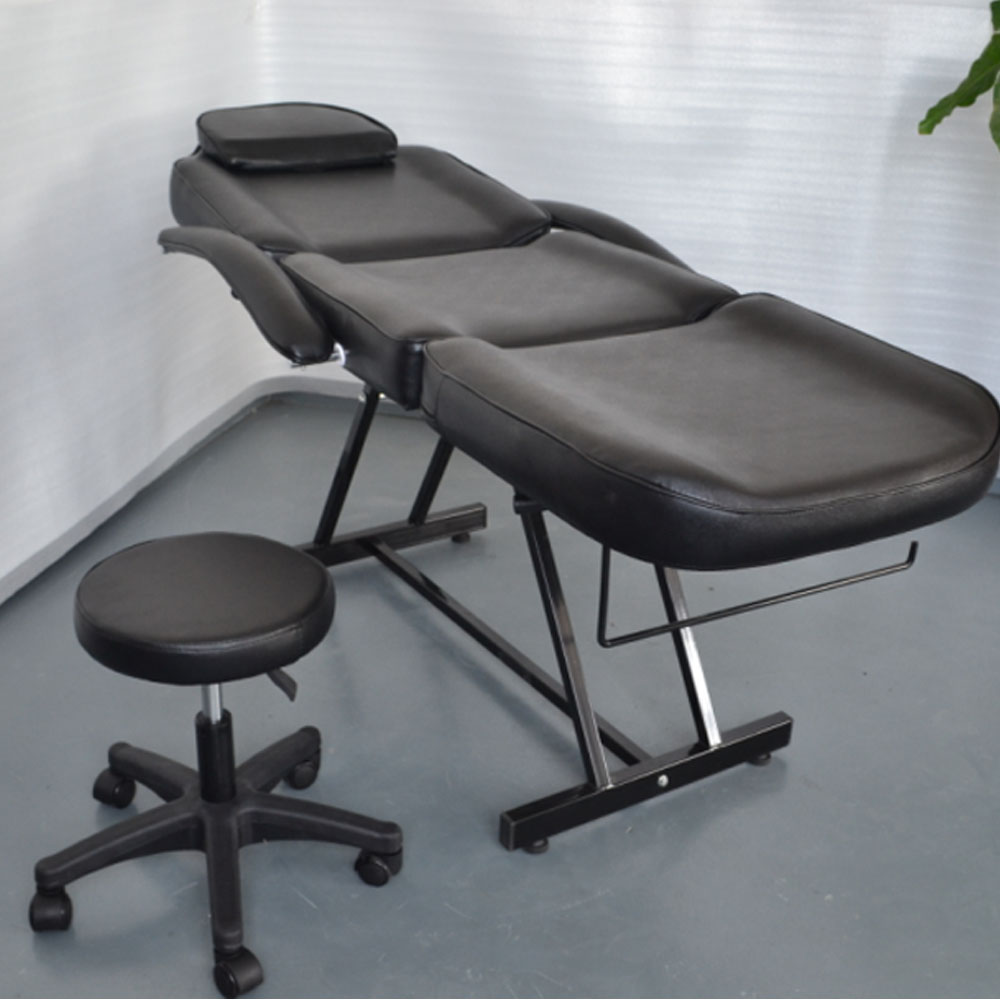 Black Facial Massage Salon Bed Spa Chair Tattoo Massage