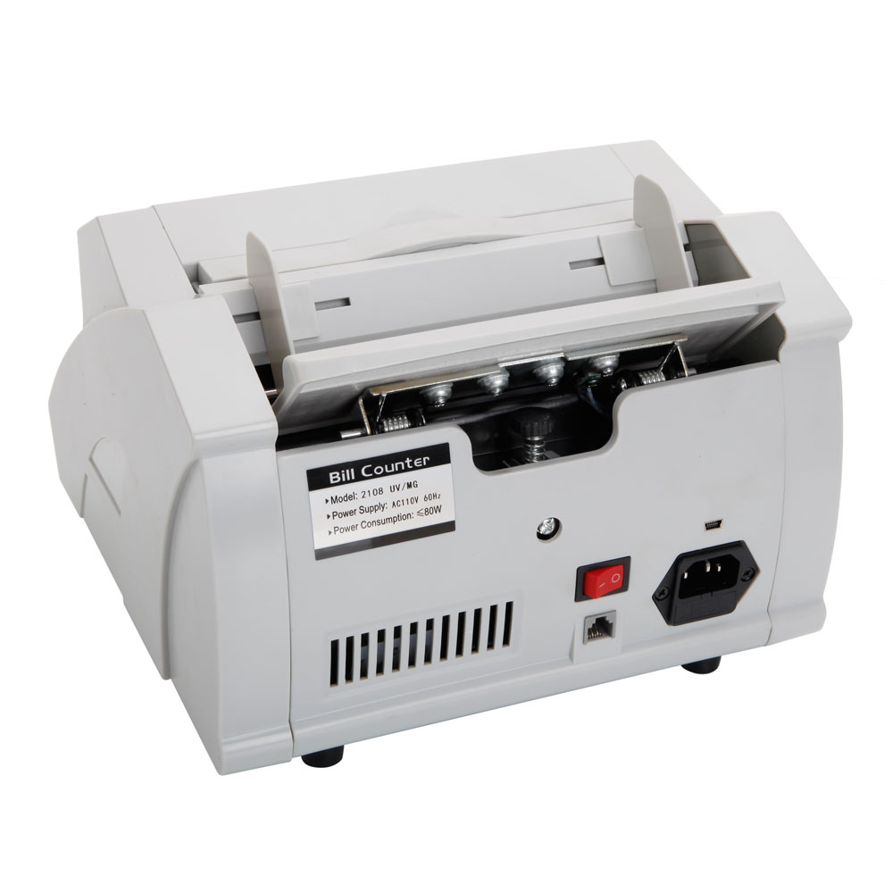 currency counting machine with counterfeit detection