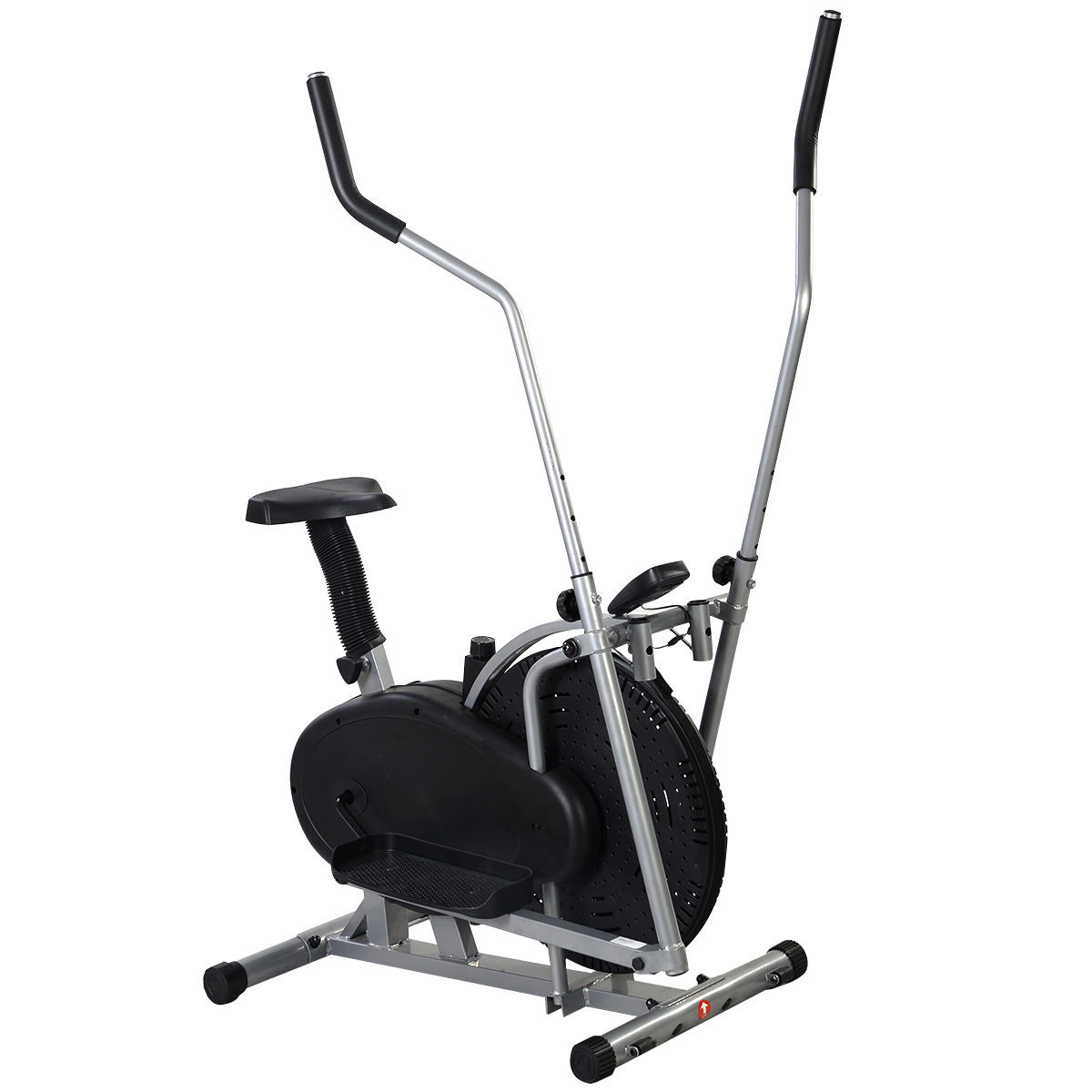 elliptical bike 2 in 1 cross trainer exercise fitness machine home workout