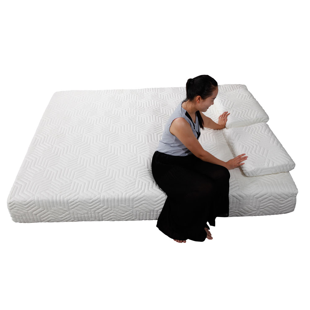 10 Quot Queen Size Cool Medium Firm Memory Foam Mattress Bed