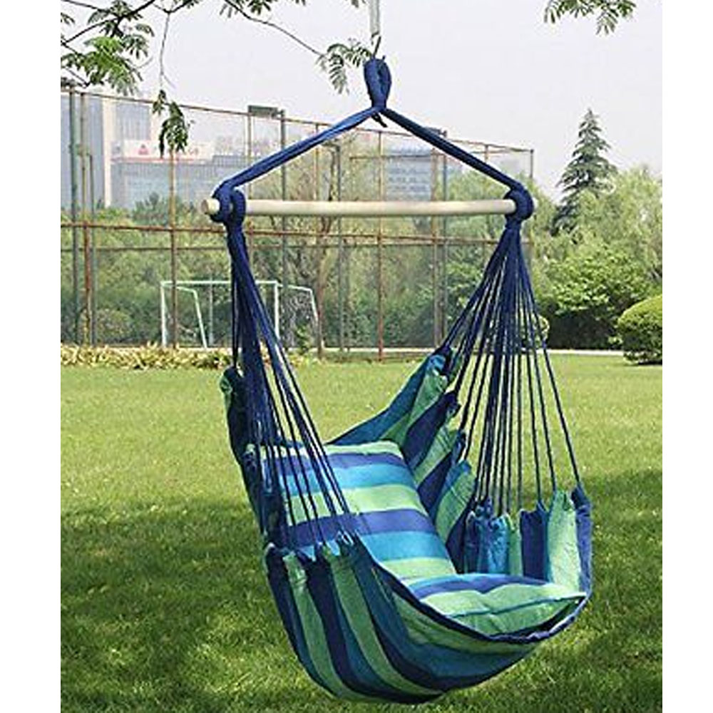 Hammock Hanging Rope Chair Porch Swing Seat Patio Camping