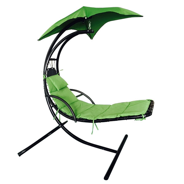 Hanging Chaise Lounge Chair Umbrella Patio Furniture Pool Lounger – Lounge Chair Umbrella