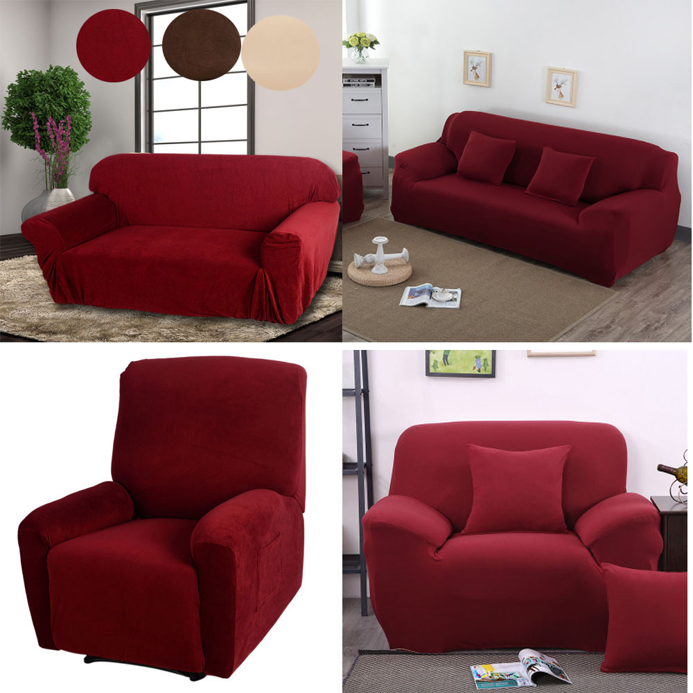 New Stretch Furniture Slipcover Choose From Chair Sofa