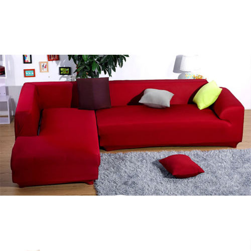 L Shape Stretch Elastic Fabric Sofa Cover Sectional Corner Couch