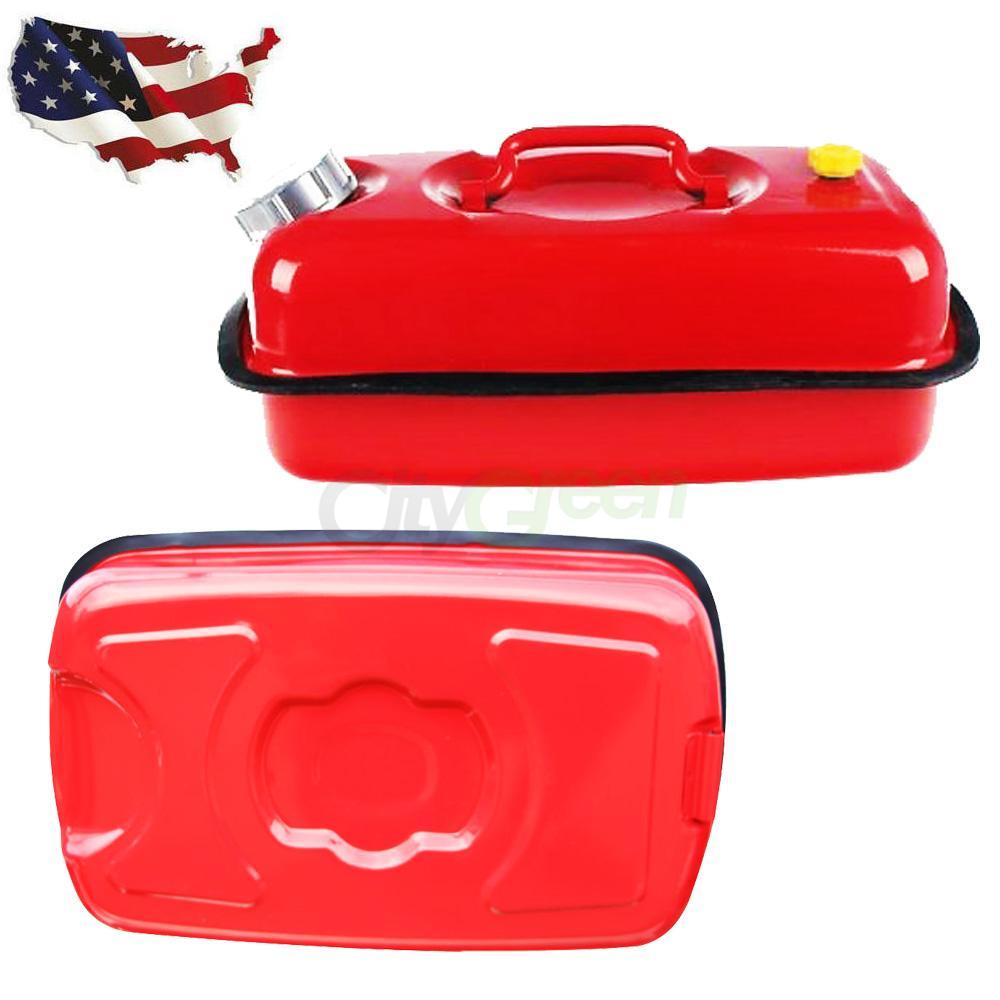 Portable Fuel Tank Gasbuddy : Portable spare l gasoline can gallon oil fuel gas