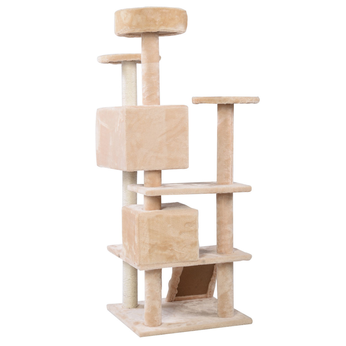 """52"""" Cat Tree Tower Condo Furniture Scratch Post Kitty Pet"""