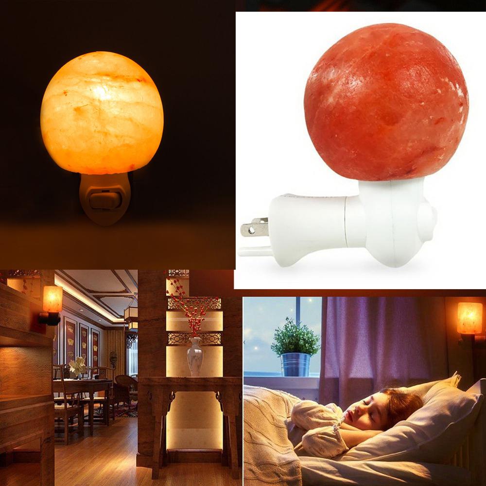 Himalayan Salt Lamp Home Goods : Natural Lonic Crystal Himalayan Salt Rock Night Lamp Air Purifier Wall Light eBay