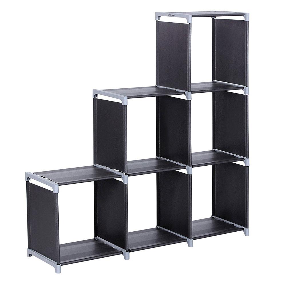 Delicieux Storage Organizer Closet 6/9 Multi Black Closet Stacker Clothes Modular  Cubes