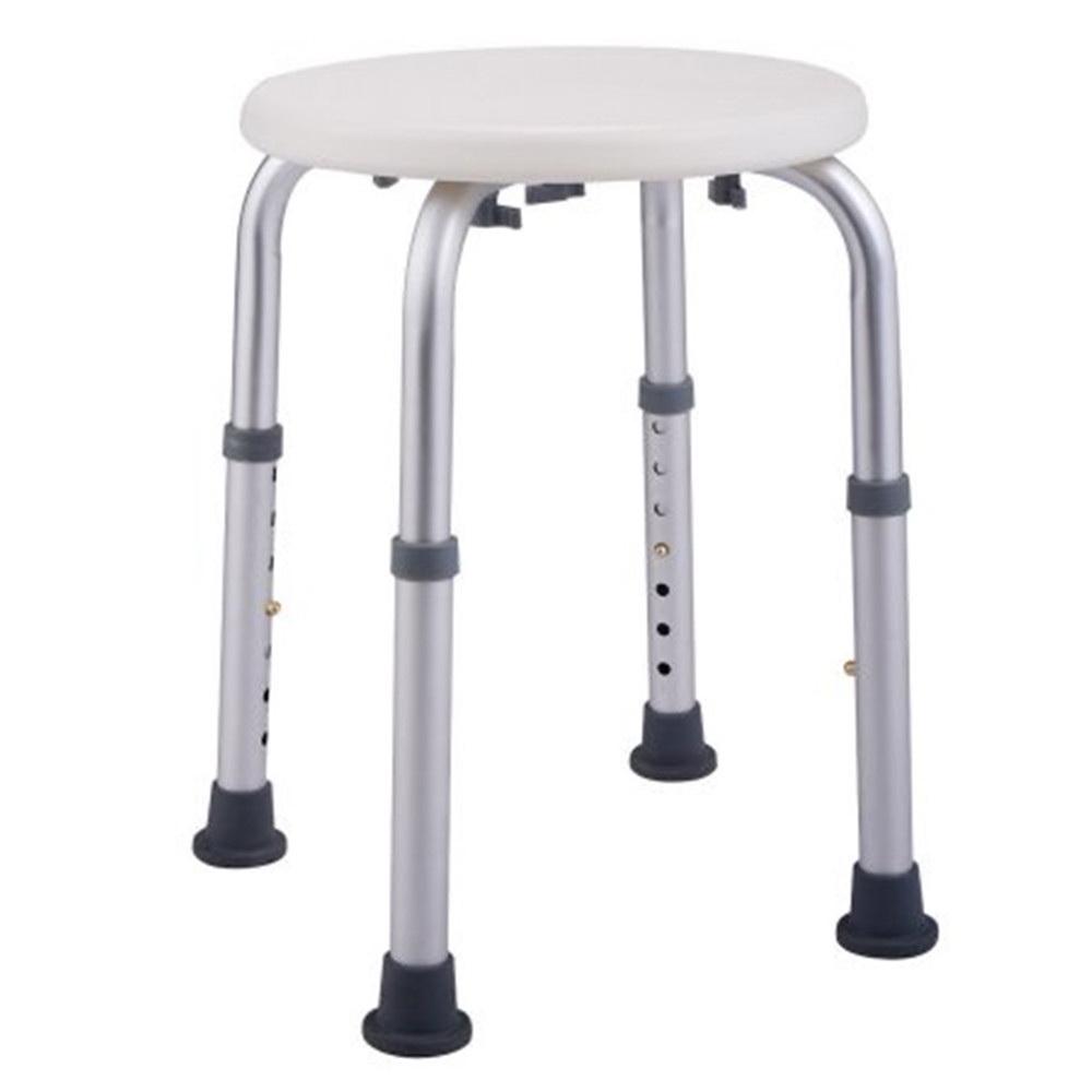 Anti-Slip Adjustable Medical Bathtub Shower Chair Round Stool Seat ...