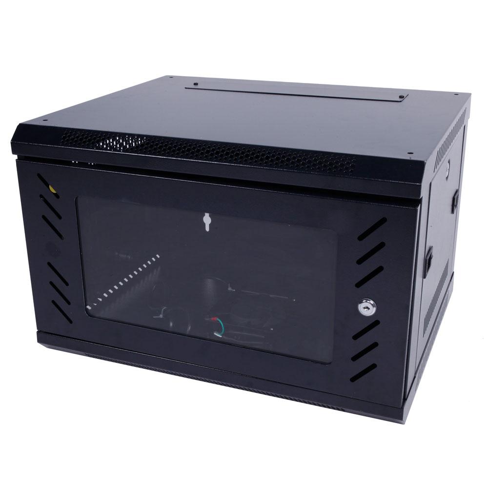 6U Wall Mount Network Server Data Cabinet Enclosure Rack Door Lock ...