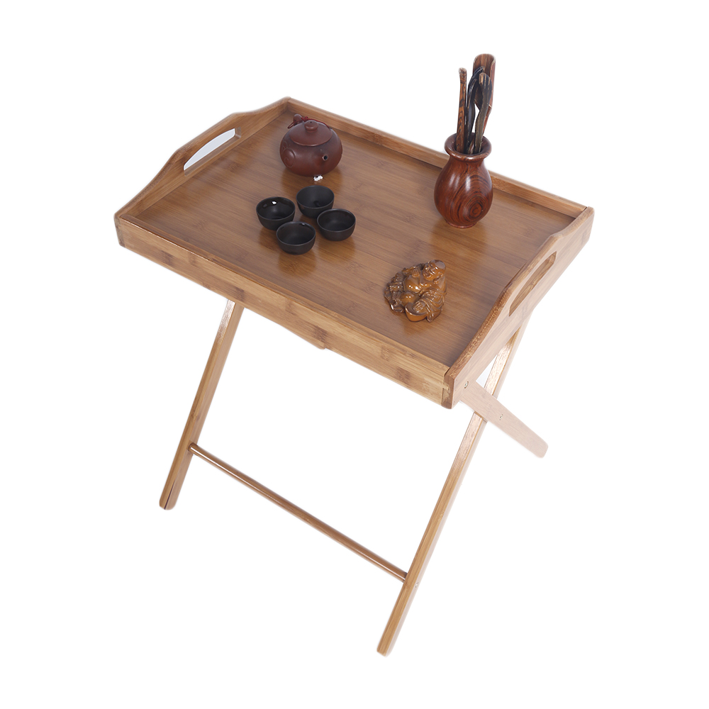 Coffee Table Tray Ebay: Wooden Folding Wood TV Tray Dinner Table Coffee Stand