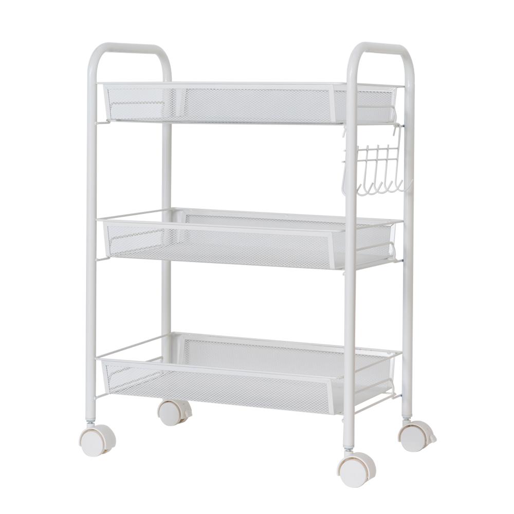 Rolling Kitchen Pantry Shelves: 3 Tier Shelving Rack Shelf Rolling Kitchen Pantry Storage