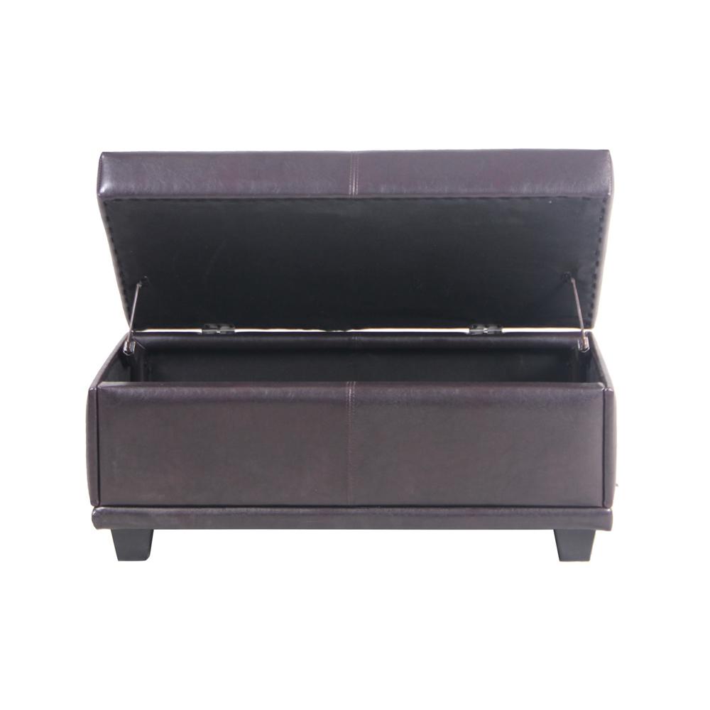 Excelente Otomana De Gran Tamaño Con Muebles De Almacenamiento ...