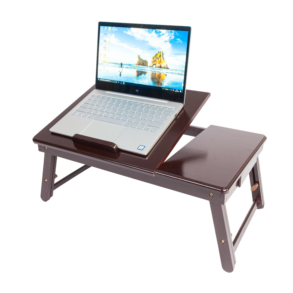 tray desk full adjustable luxury portable standing awesome for table nearpow of laptop size bed