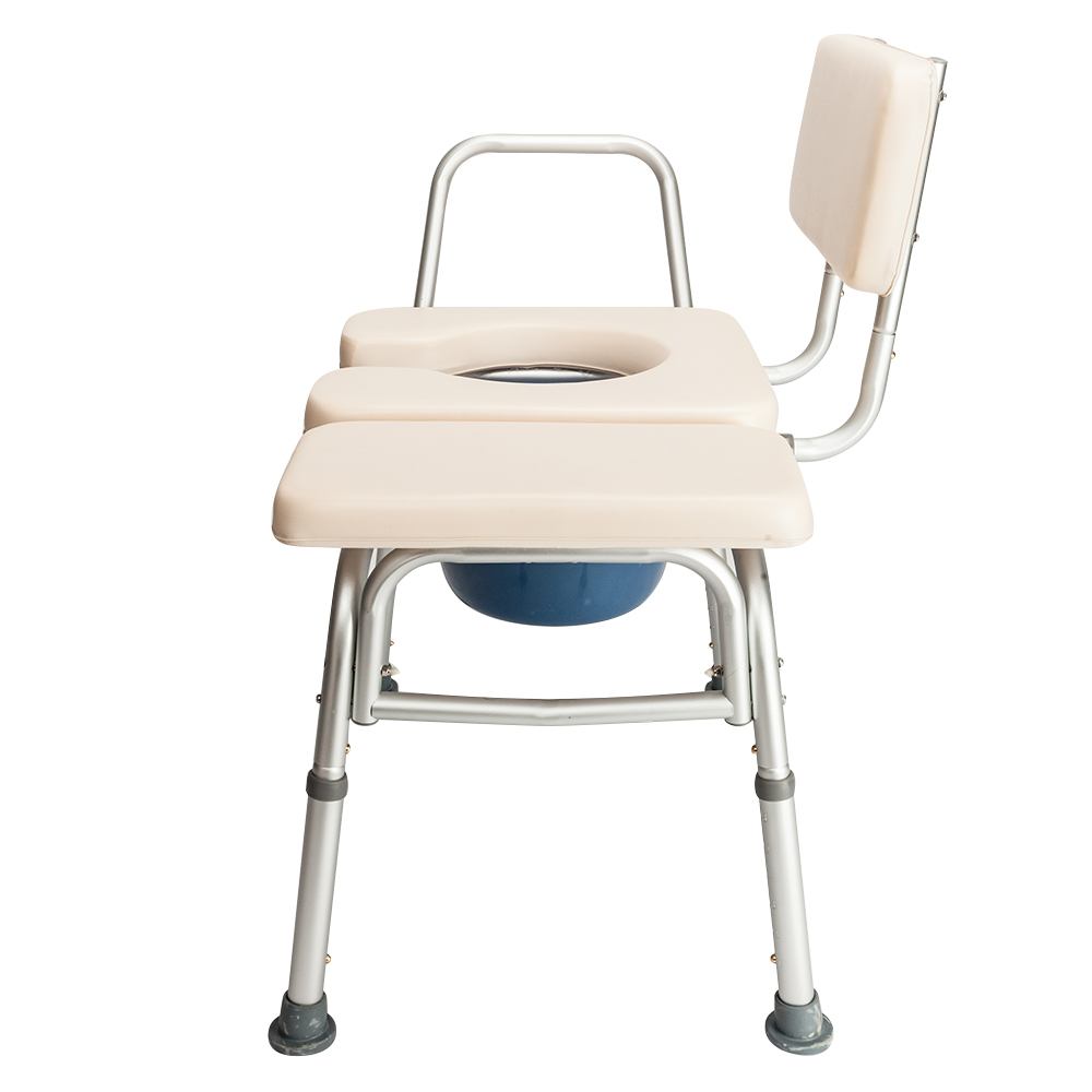 Toilet Seat Chair Medical Adjustable Bedside Bathroom Potty Commode ...