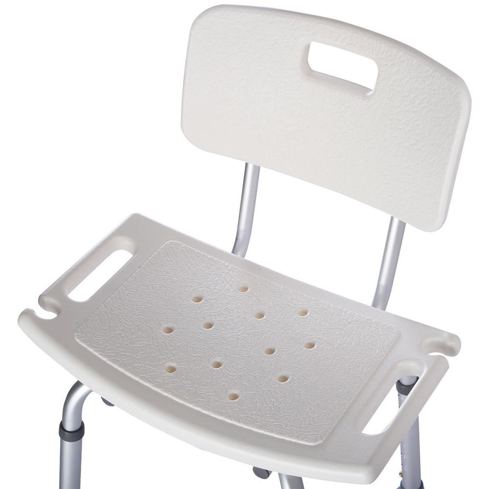 Adjustable Medical Shower Chair Bath Tub Bench Stool Seat