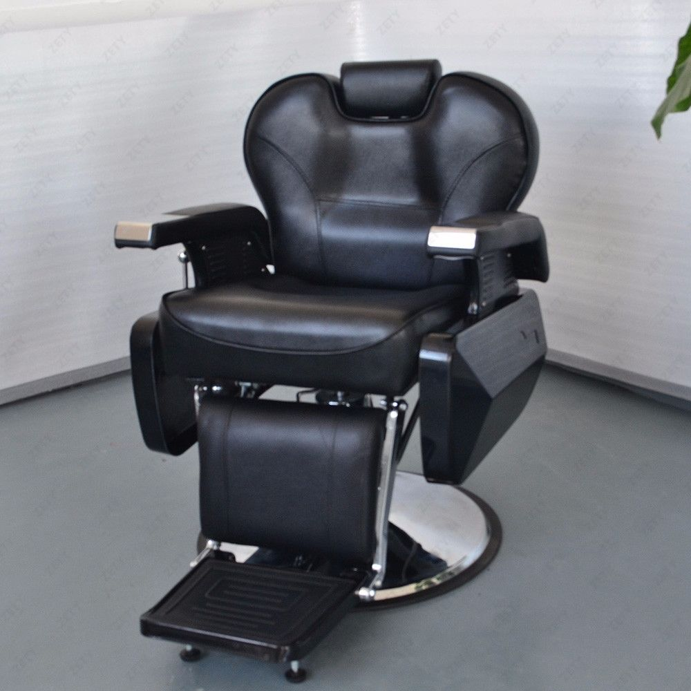 2 all purpose hydraulic recline barber chairs salon beauty for Hydraulic chairs beauty salon