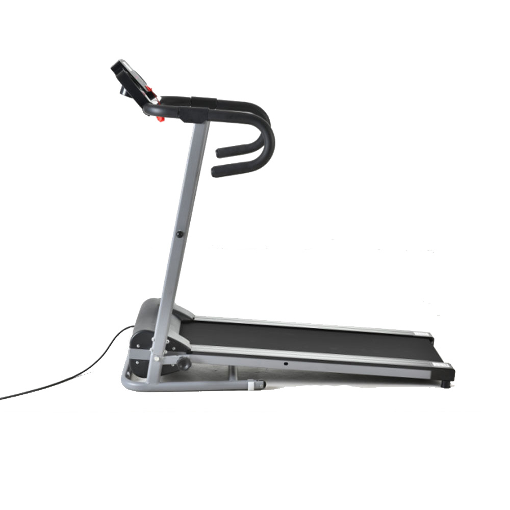 500w folding portable electric motorized treadmill running for Best choice products black 500w portable folding electric motorized treadmill