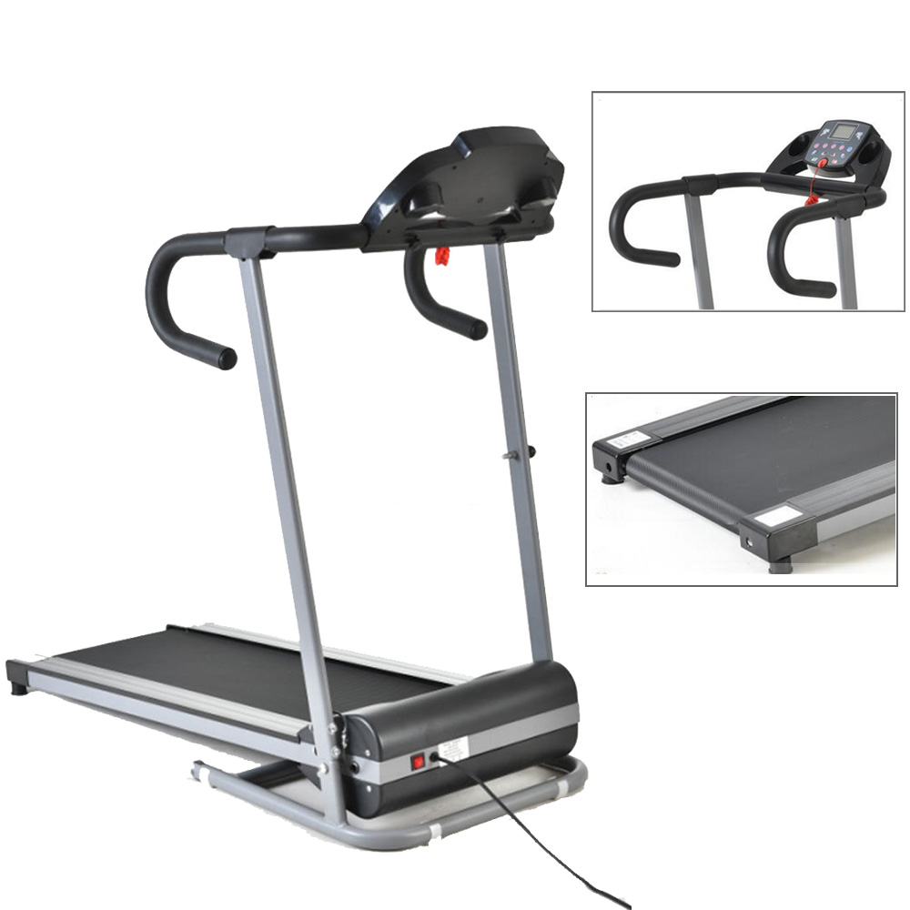 New 1100w folding electric treadmill portable motorized for Best choice products black 500w portable folding electric motorized treadmill