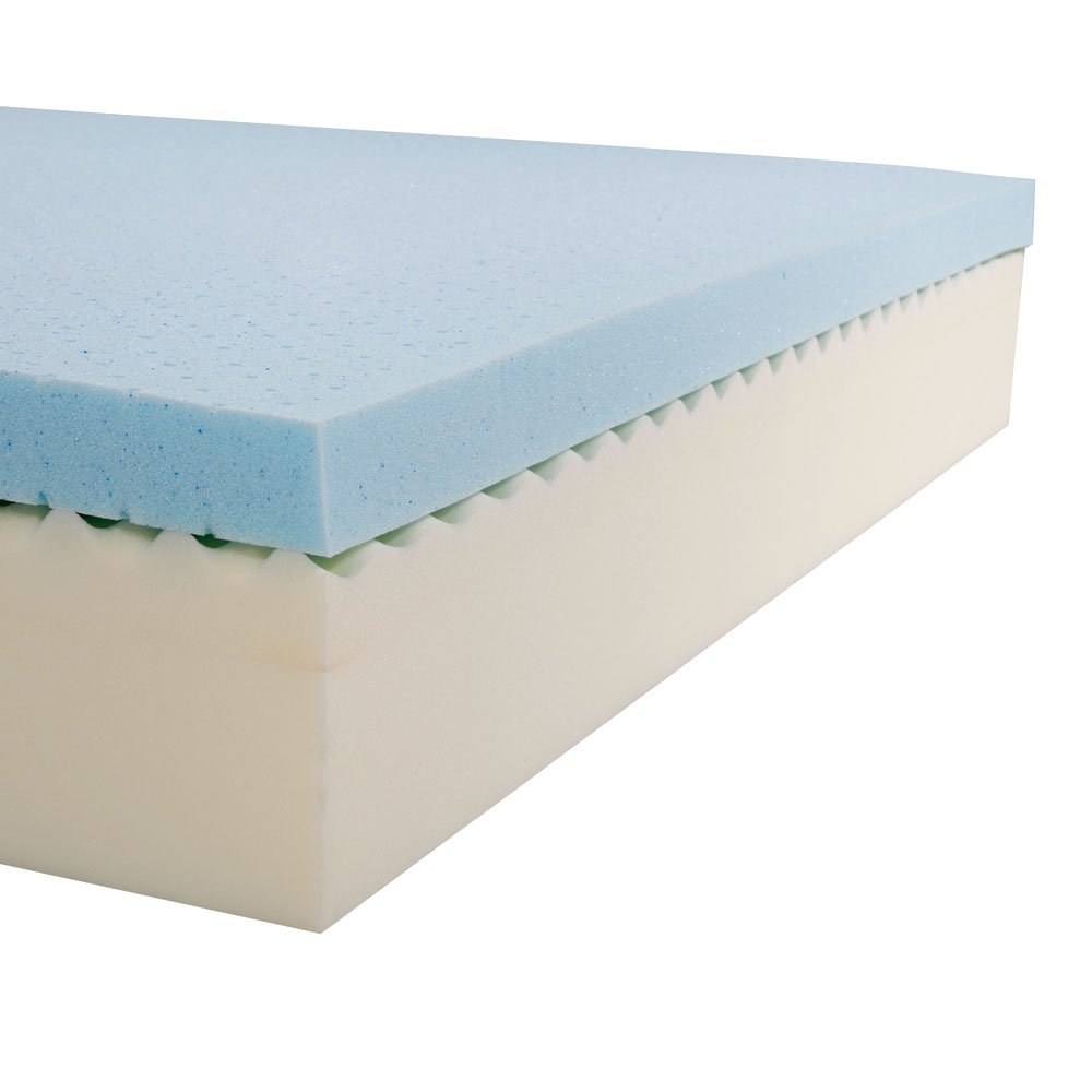 12 In Queen Size Cool Medium Firm Memory Foam Mattress Bed With 2 Pillows White Ebay