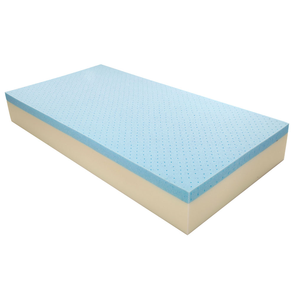 10 cool traditional firm memory foam mattress bed with 2 gel pillows twin size ebay. Black Bedroom Furniture Sets. Home Design Ideas