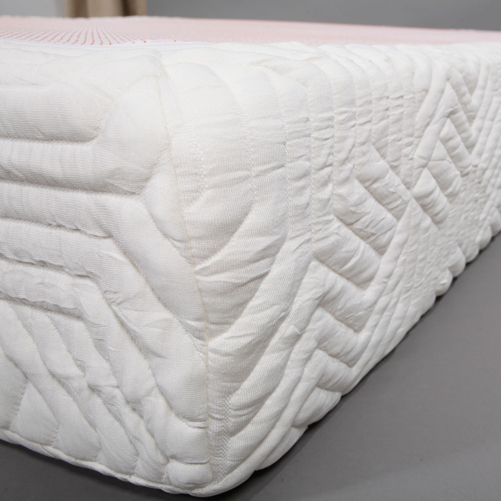 10 queen size cool medium firm memory foam mattress bed with 2 pillows white 699900066027 ebay. Black Bedroom Furniture Sets. Home Design Ideas
