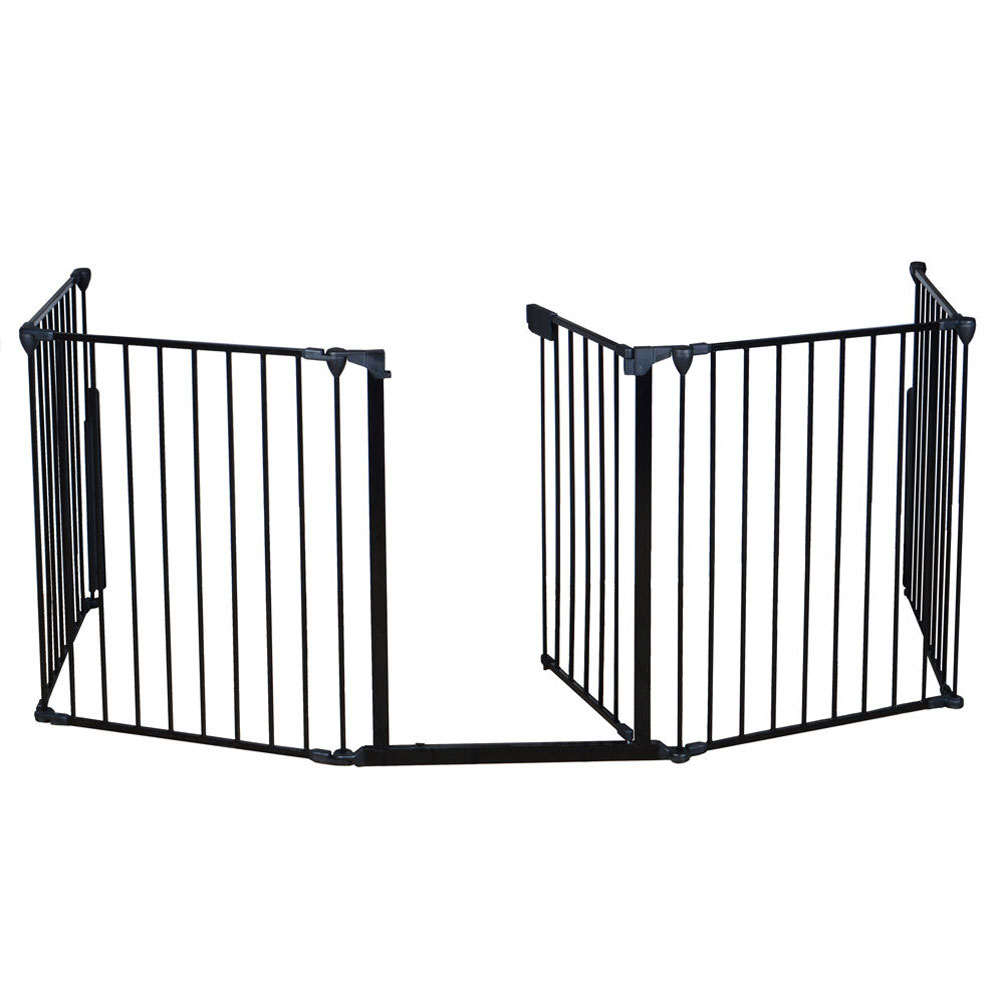 Fireplace Fence Baby Safety Fence Hearth Gate Pet Dog Cat
