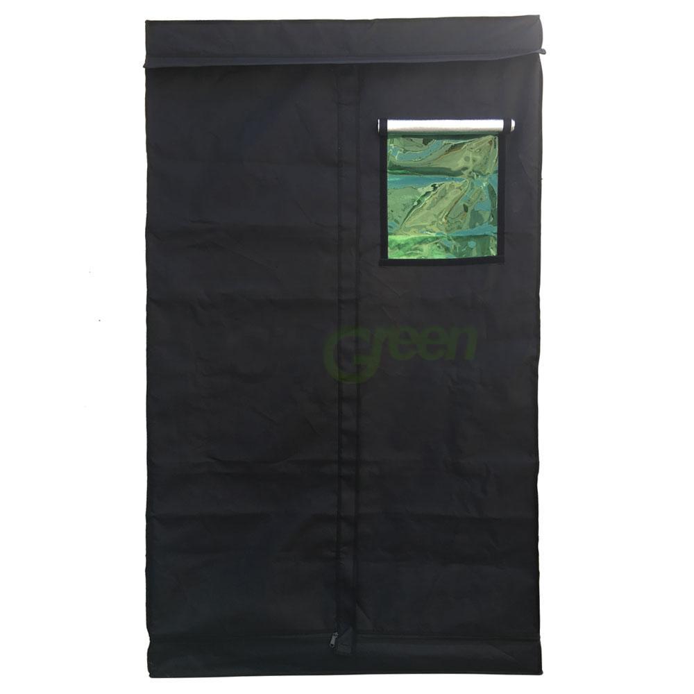 Hydroponic 48 x 48 x78 indoor grow tent reflective mylar for Indoor gardening reflective material