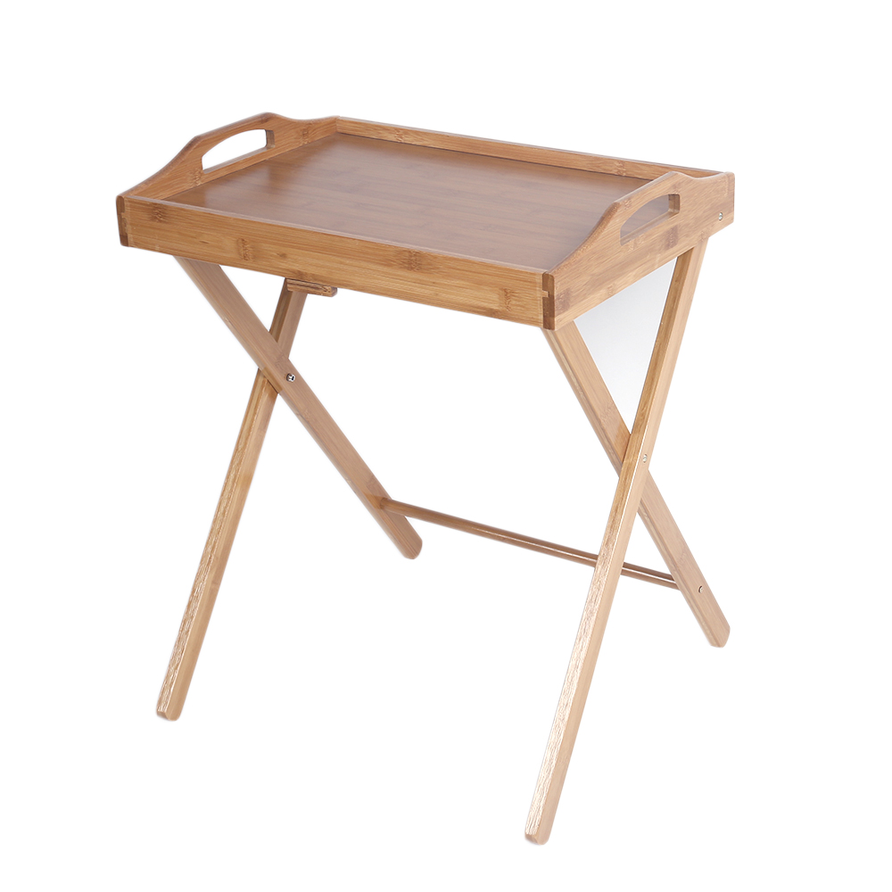 Wooden Folding Wood Tv Tray Dinner Table Coffee Stand Serving Snack Tea Portable 699971311583 Ebay