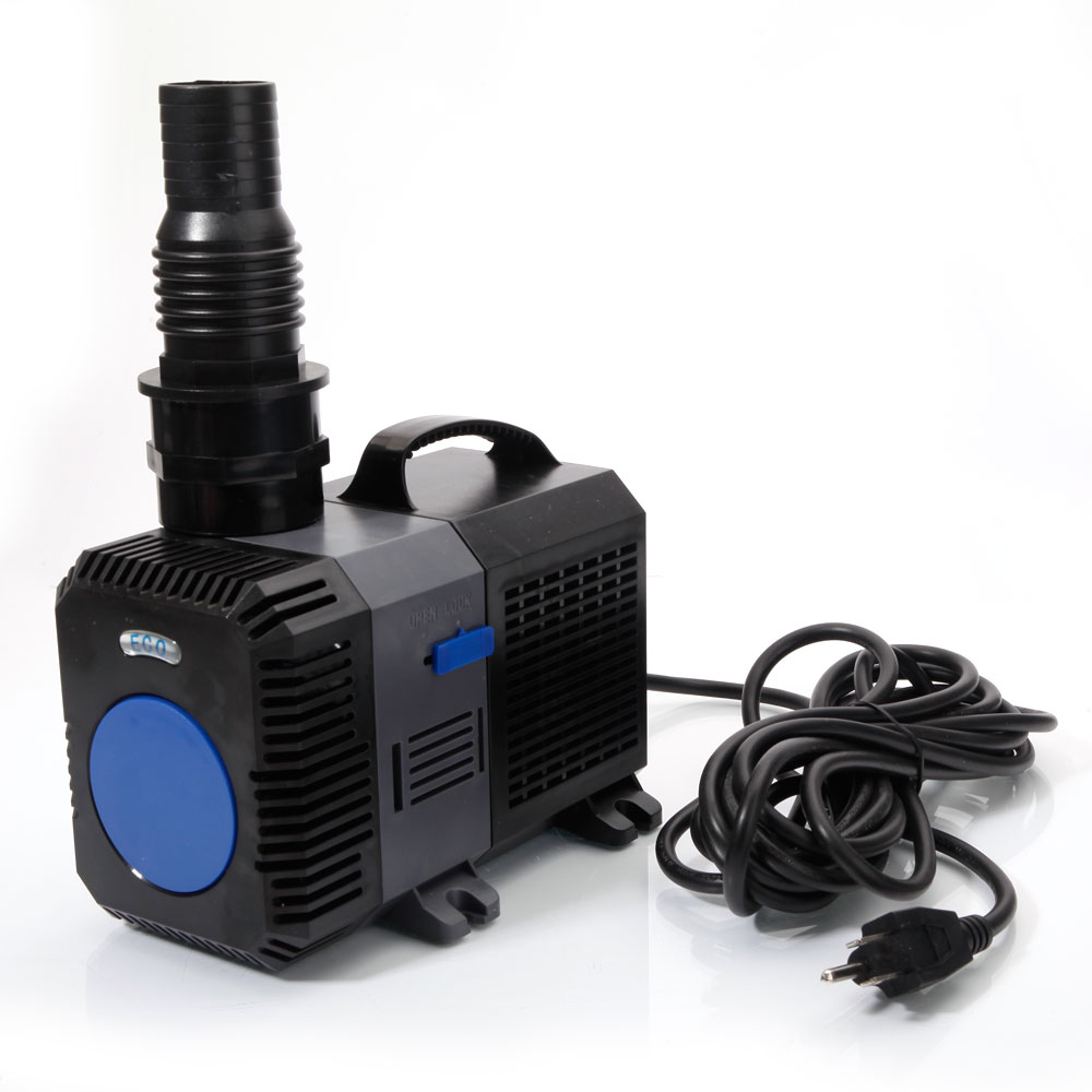 3170 4227 gph submersible inline water filter pump aquar for Water feature pump filter