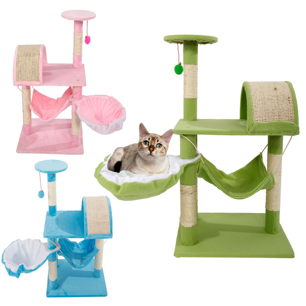 new 32 cat tree tower condo furniture scratching post pet. Black Bedroom Furniture Sets. Home Design Ideas
