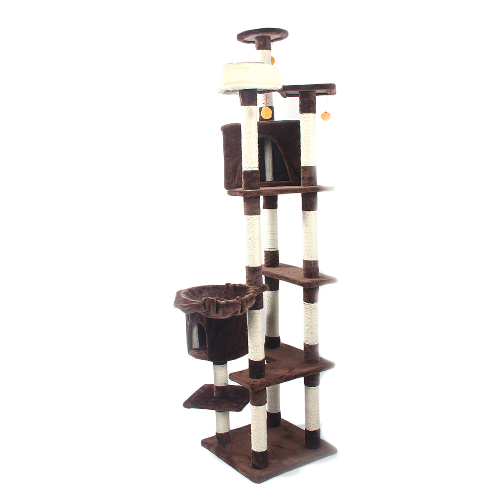 "16""19""36""52""80"" Cat Tree Play House Tower Condo Furniture"