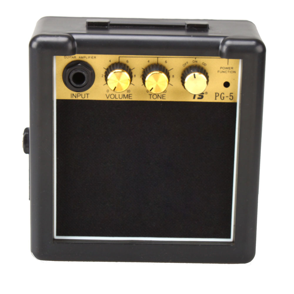 new 5w mini electric guitar amp amplifier speaker volume tone control ebay. Black Bedroom Furniture Sets. Home Design Ideas