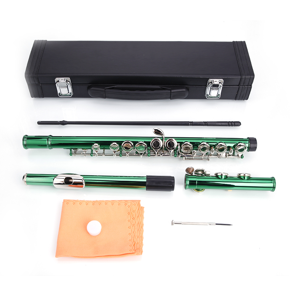 New Different Colors 16 Hole C Flute For Student Beginner School