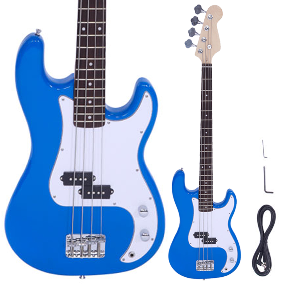 Brand Of Electric Guitar Strings : new brand blue 4 string electric bass guitar for burning fire style ebay ~ Russianpoet.info Haus und Dekorationen