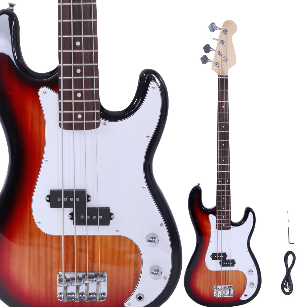 how to change strings on electric bass guitar