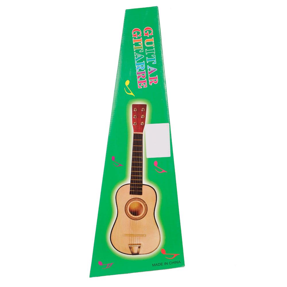 blue 21 6 string beginners practice acoustic guitar musical instruments kids ebay. Black Bedroom Furniture Sets. Home Design Ideas