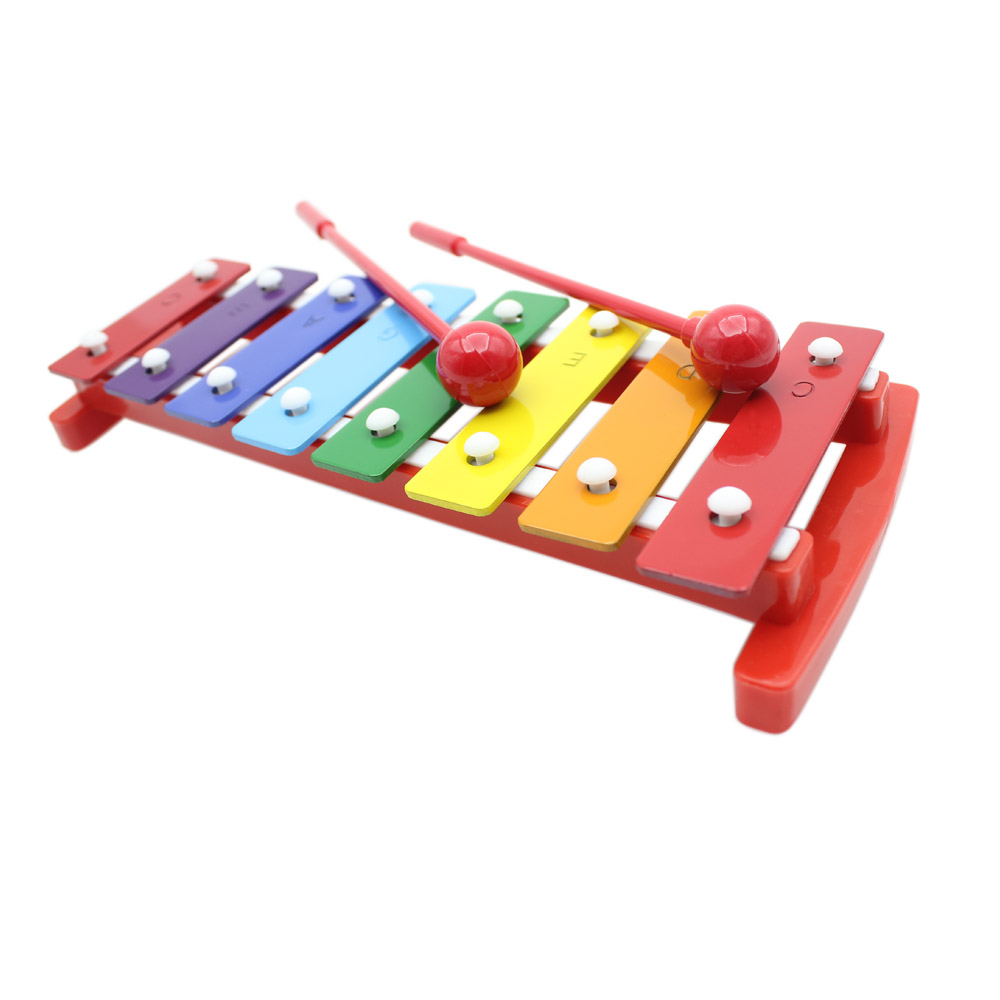 Kids 8 Notes Musical Xylophone Piano Wooden Glockenspiel -2208