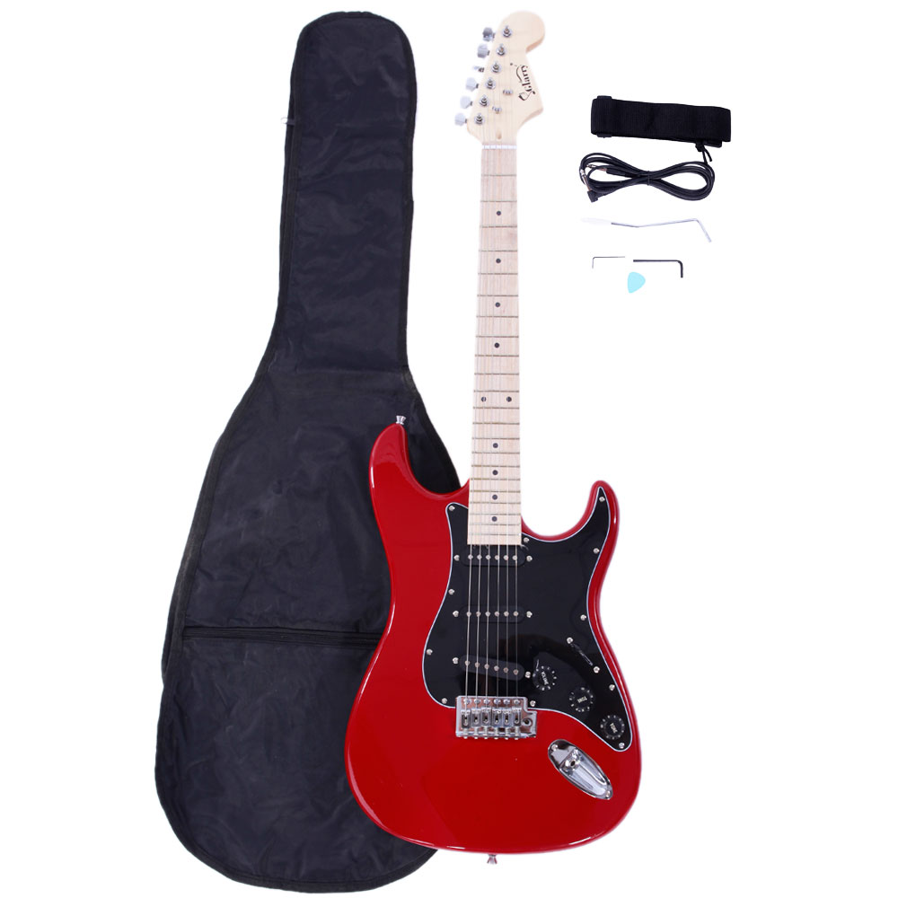 Guitar Accessories Shop In Kandivali West : glarry st burning fire 22 frets basswood beginner electric guitar w accessories ebay ~ Vivirlamusica.com Haus und Dekorationen