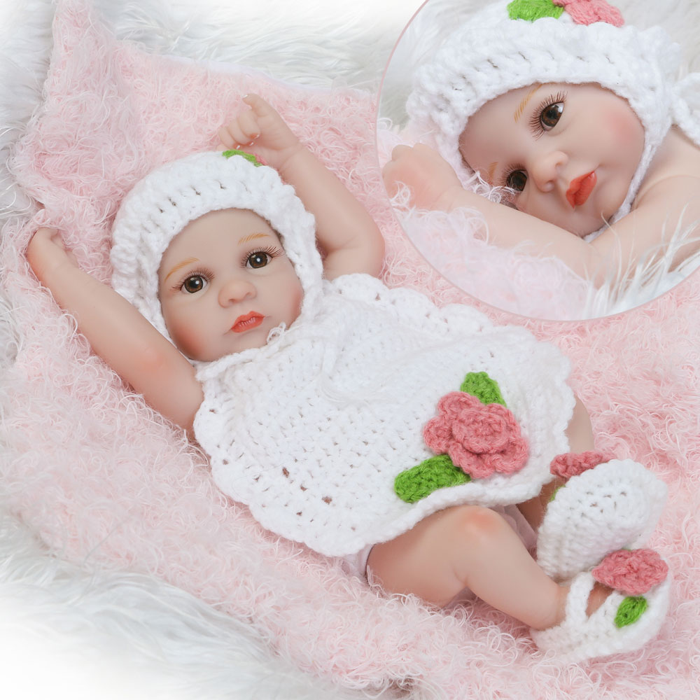 10 Quot Handmade Reborn Baby Doll Lifelike Silicone Vinyl Girl